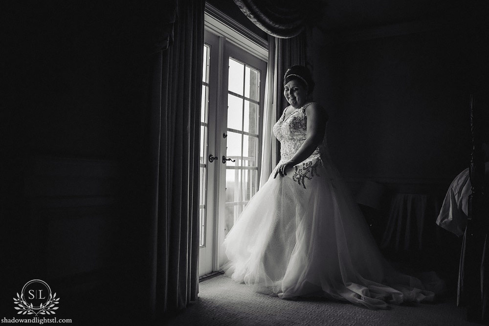 ritz carlton st louis wedding bride