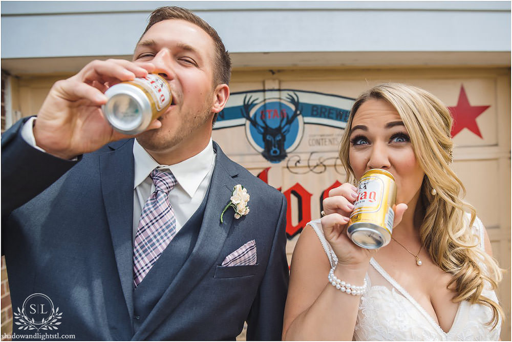 stag beer wedding