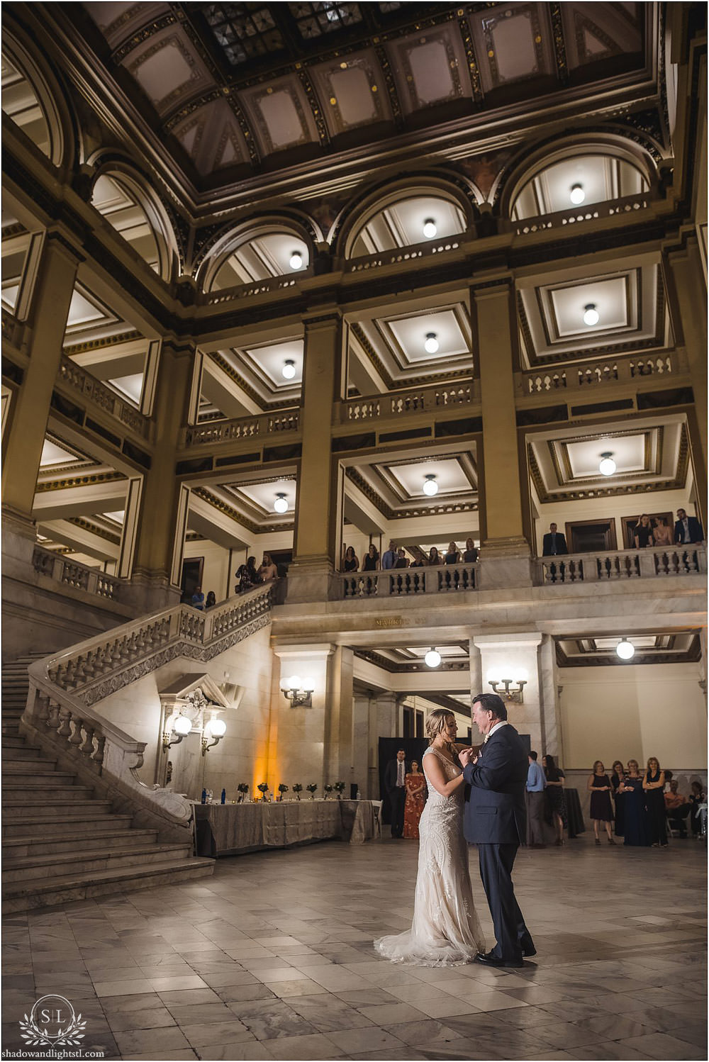 st louis city hall wedding dancing