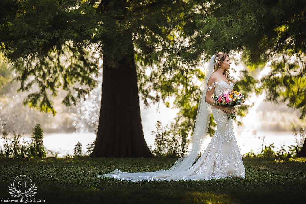 forest park st louis wedding photography