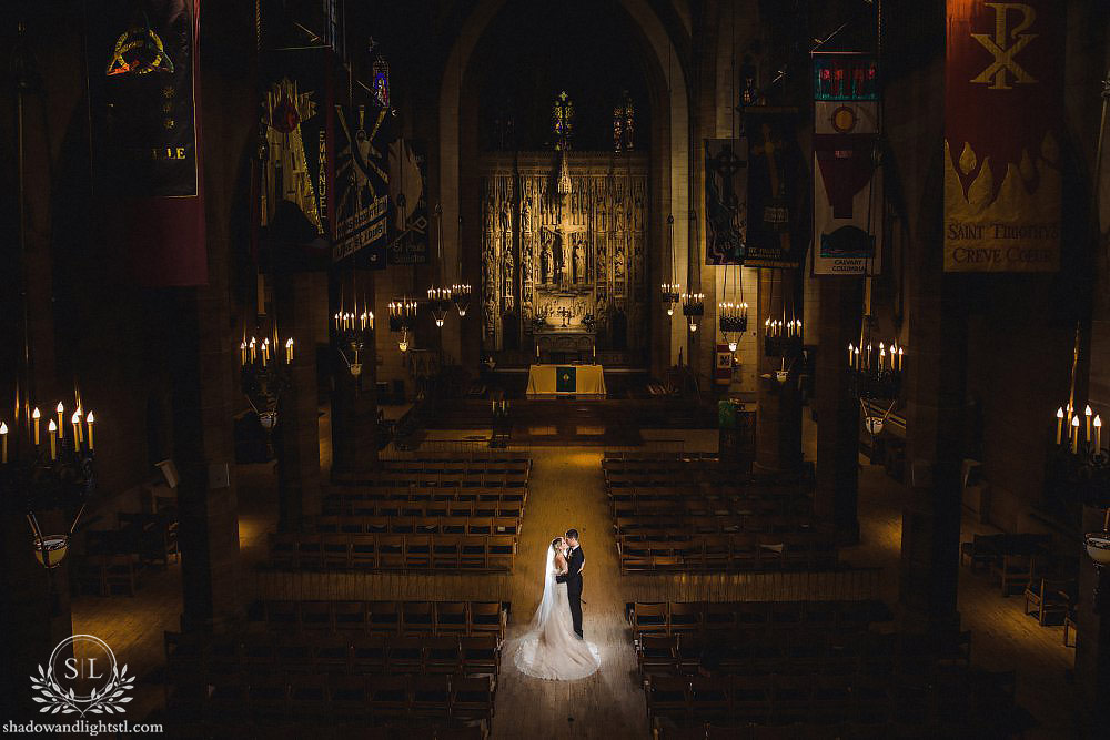 christ church cathedral st louis wedding