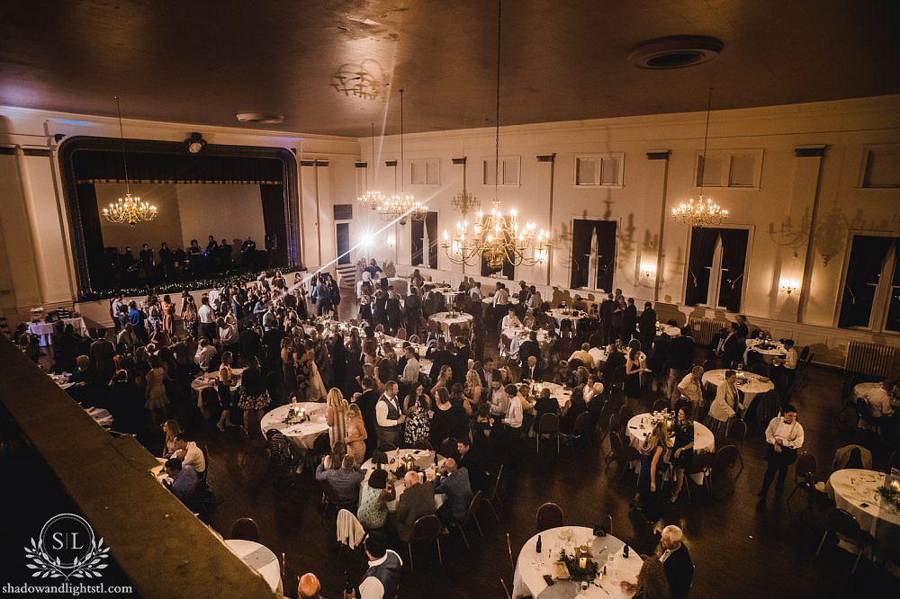franklin room wedding reception photos