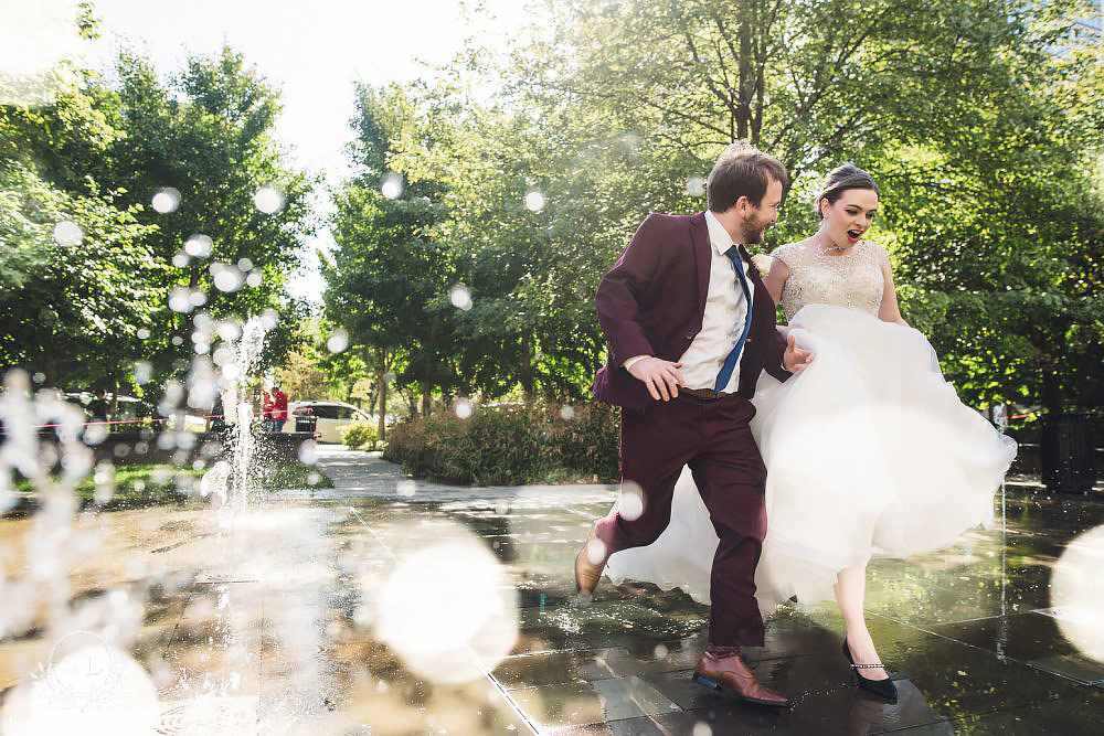 st louis city garden wedding photos