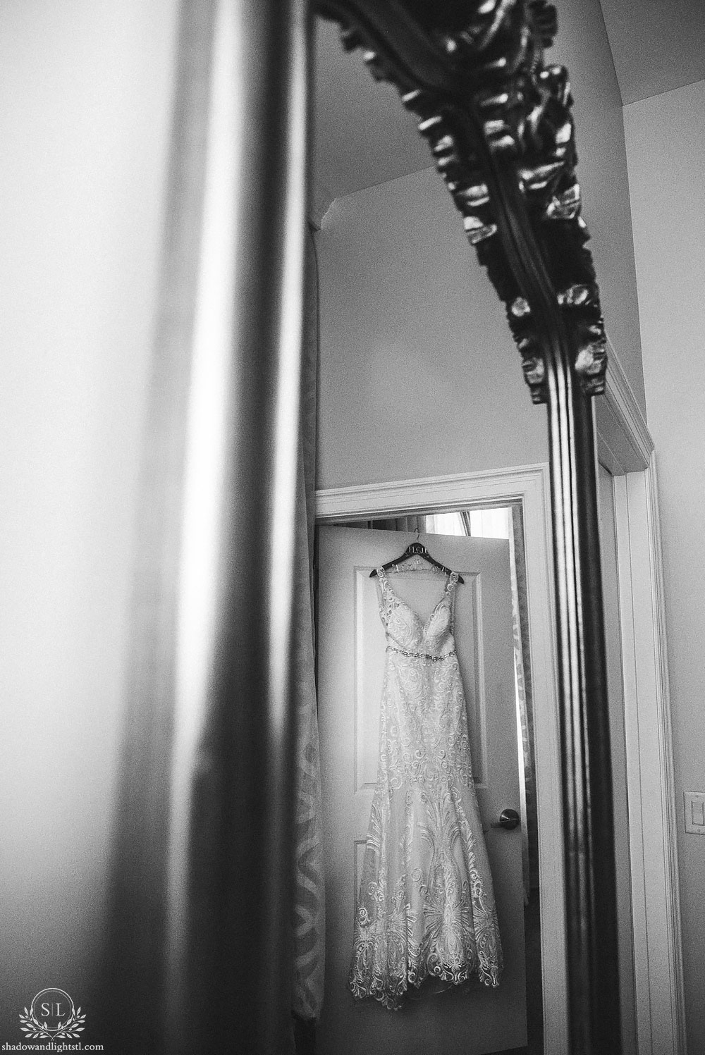 Hotel St Louis Wedding Bridal prep