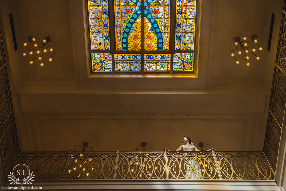 Hotel St Louis Wedding Bridal portrait