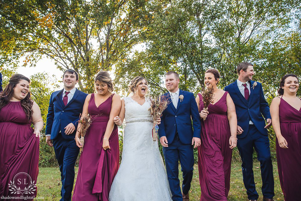 bretz wildlife lodge and winery wedding in carlyle, il
