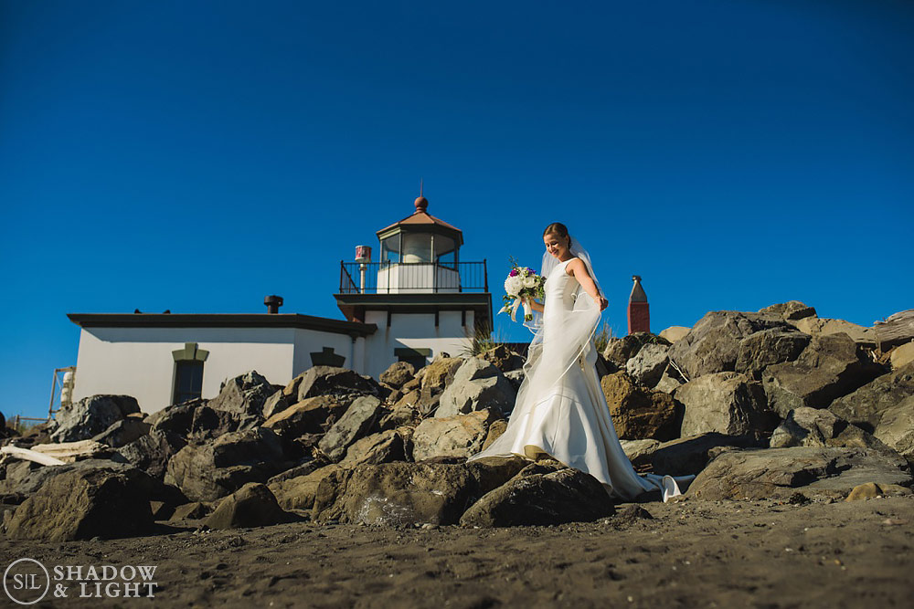 Seattle Wedding Discovery Park