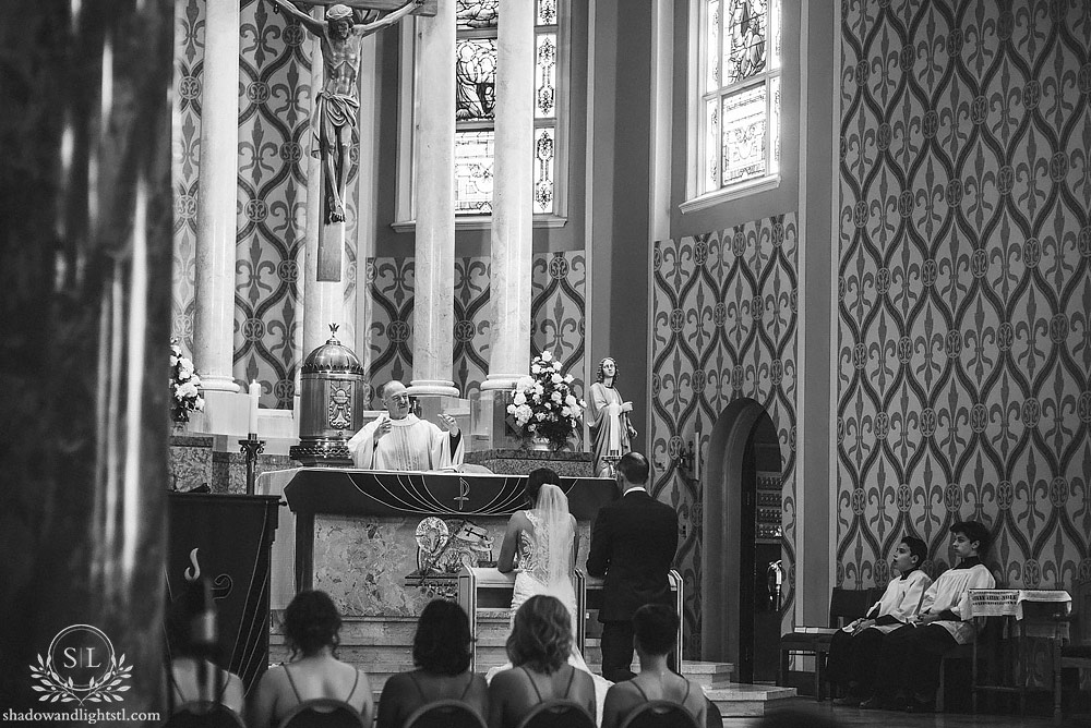 St Ambrose on the Hill St Louis Wedding Ceremony